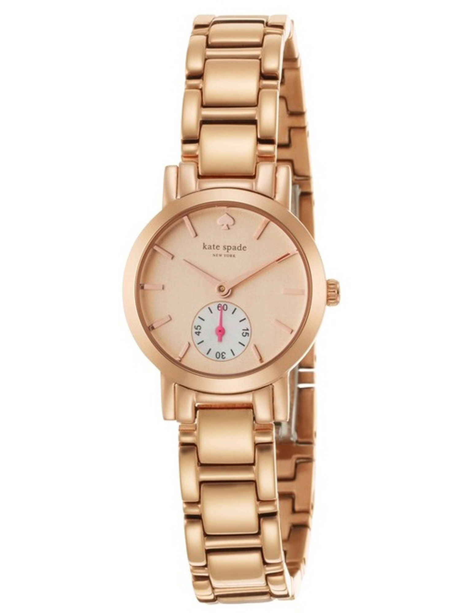 New York Rose Gold-Tone Stainless Steel Ladies Watch 1YRU0544