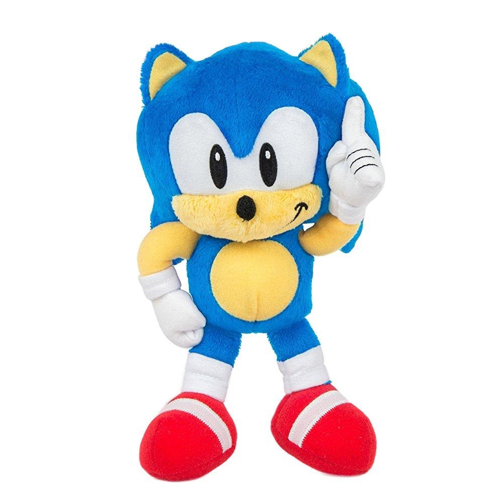 "TOMY Sonic Collector Series Small Classic Plush, 8"" by TOMY International"