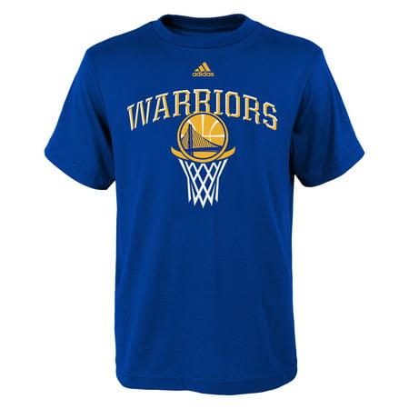 Golden State Warriors Youth Bank Shot T Shirt    Royal