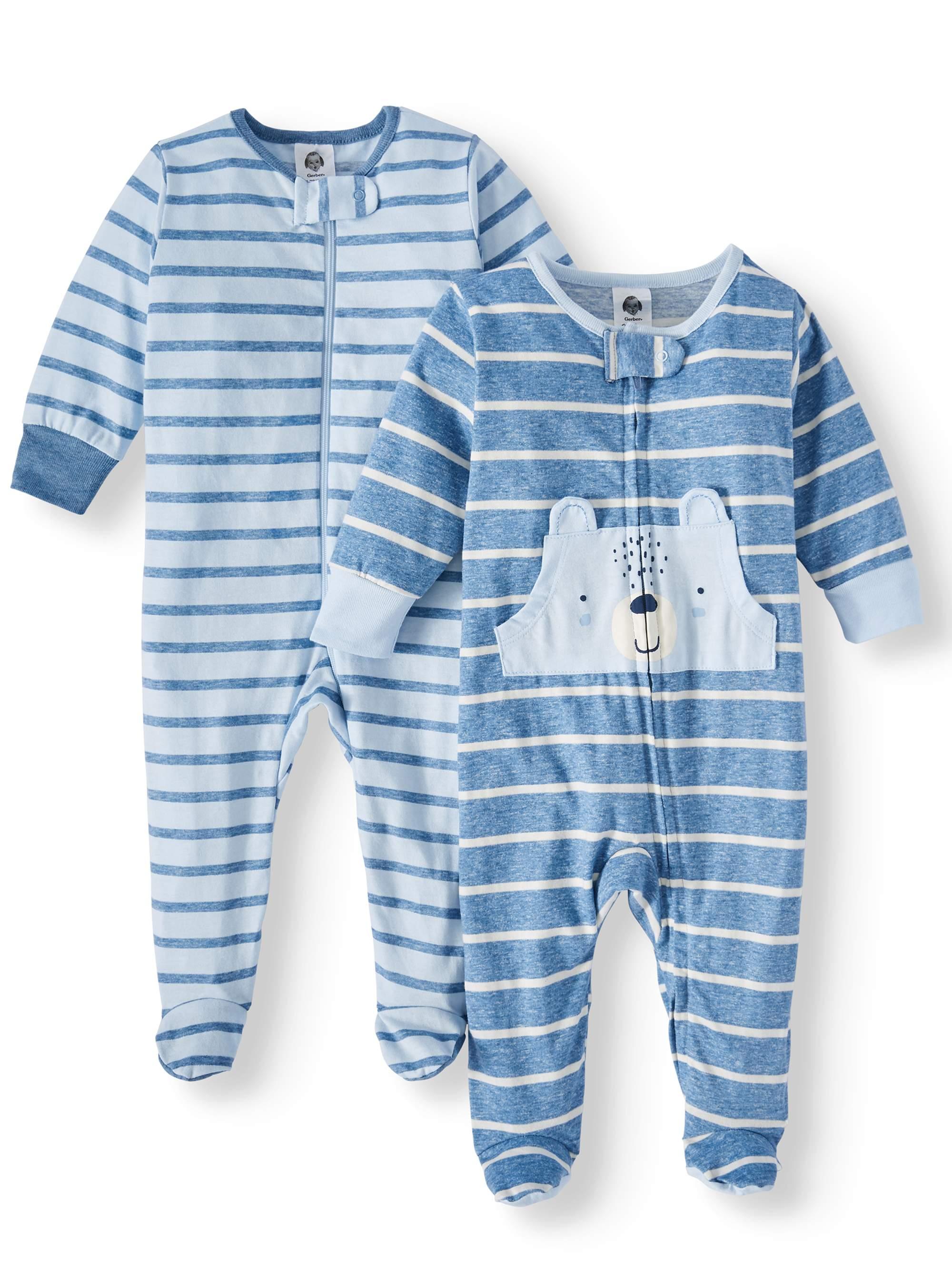 Gerber Organic Cotton Sleep N Play & Blanket Set (Baby Boys)
