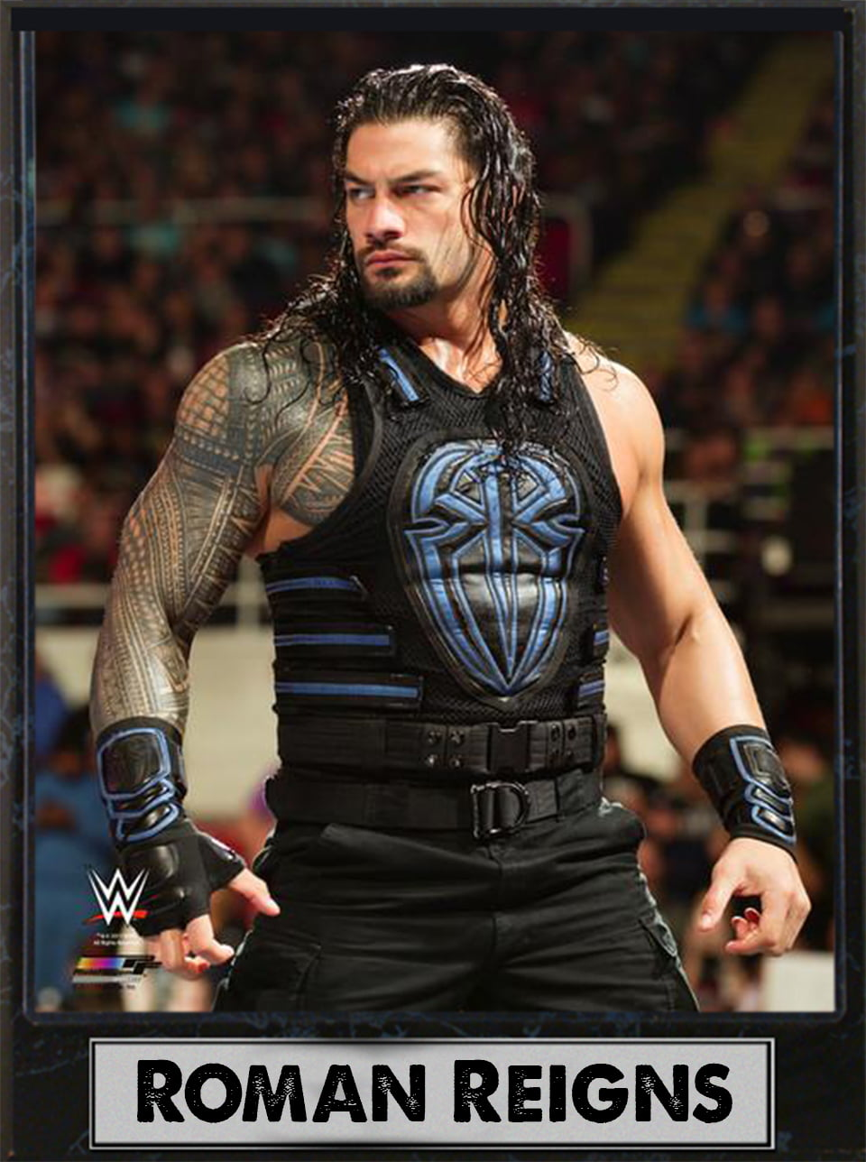 9x12 Photo Plaque Roman Reigns by Encore Select