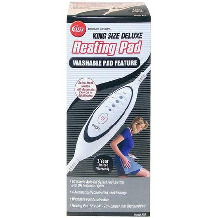 Cara Heating Pad Moist/Dry Smart Switch 1 Each ()