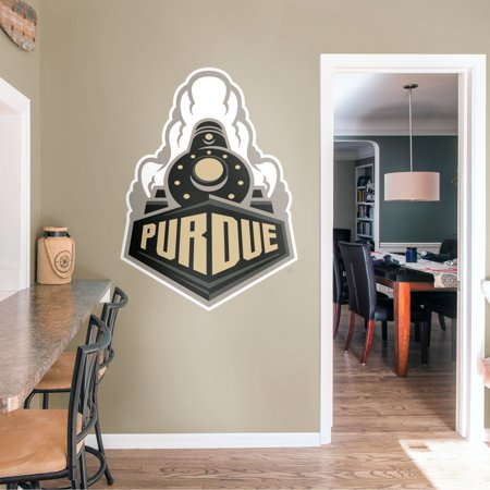 Fathead Purdue Boilermakers: Train Logo - Giant Officially Licensed Removable Wall Decal -  61-62461