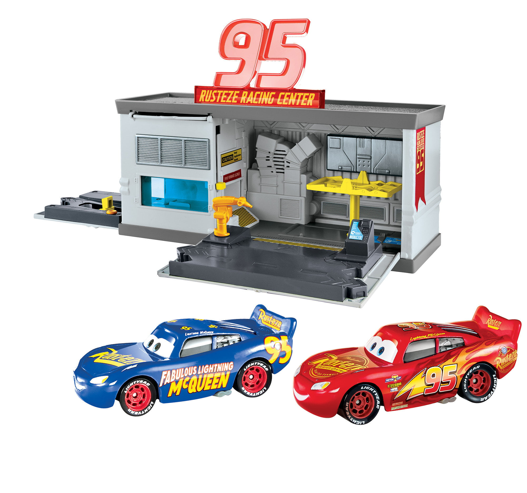 Disney Pixar Cars 3 Rust Eze Quick Change Garage Walmart Com