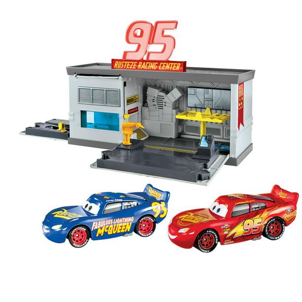 Disney Pixar Cars 3 Rust Eze Quick Change Garage Walmart Com