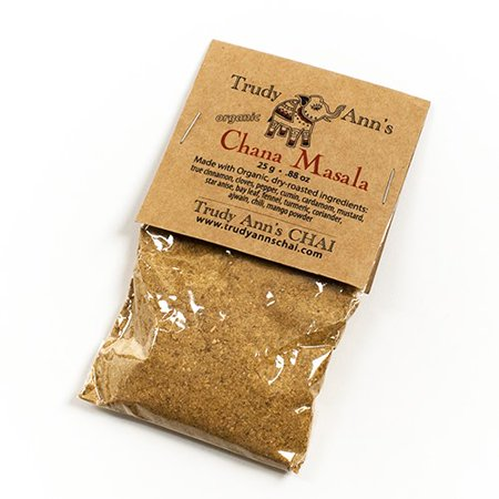 Trudy Ann's Chana Masala (Chick Pea Curry) - All Organic (0.88 (Best Chana Masala Powder)