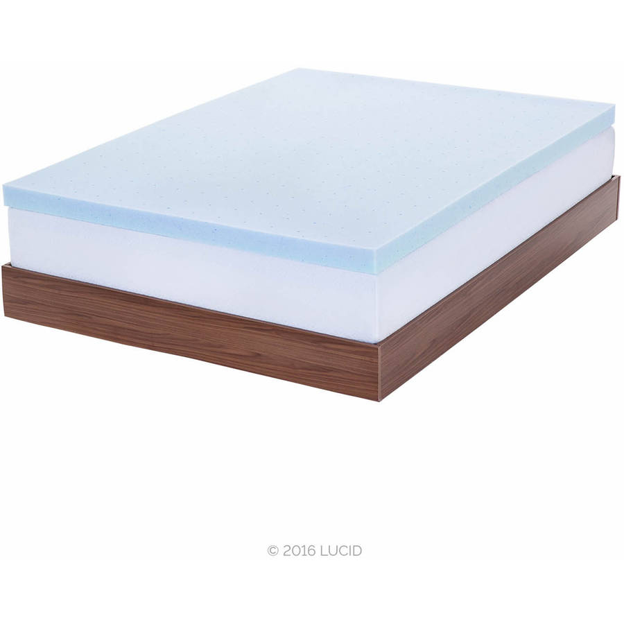 Pillow Top Mattress Pad Walmart Lcm Home Fashions Inc Damask Stripe Pillow Top Mattress Pad
