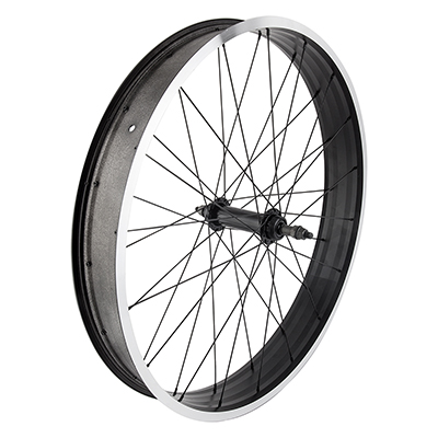 WHEEL MASTER WHL RR 26x4.0 559x73 WM XP736 BK MSW 36 WM FB1000 STL 5/7sp BO BK 170mm 14gBK