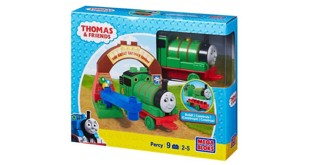 Thomas and Friends Percy at The Great Railway Show, Mega Bloks Thomas and Friends By Mega... by