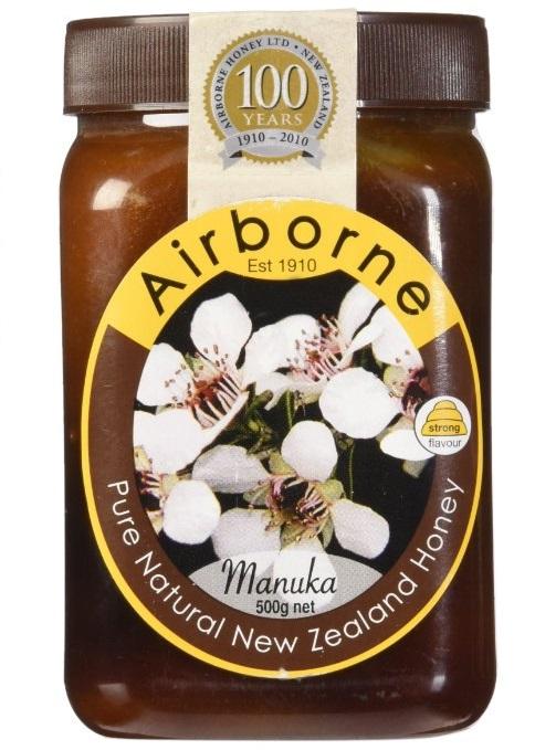 Airborne (New Zealand) Manuka Honey 500g   17.85oz by