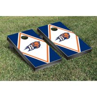 Victory Tailgate NCAA Diamond Wooden Logo Cornhole Game Set
