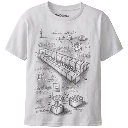 Minecraft - TNT Launcher Blueprint Youth T-Shirt