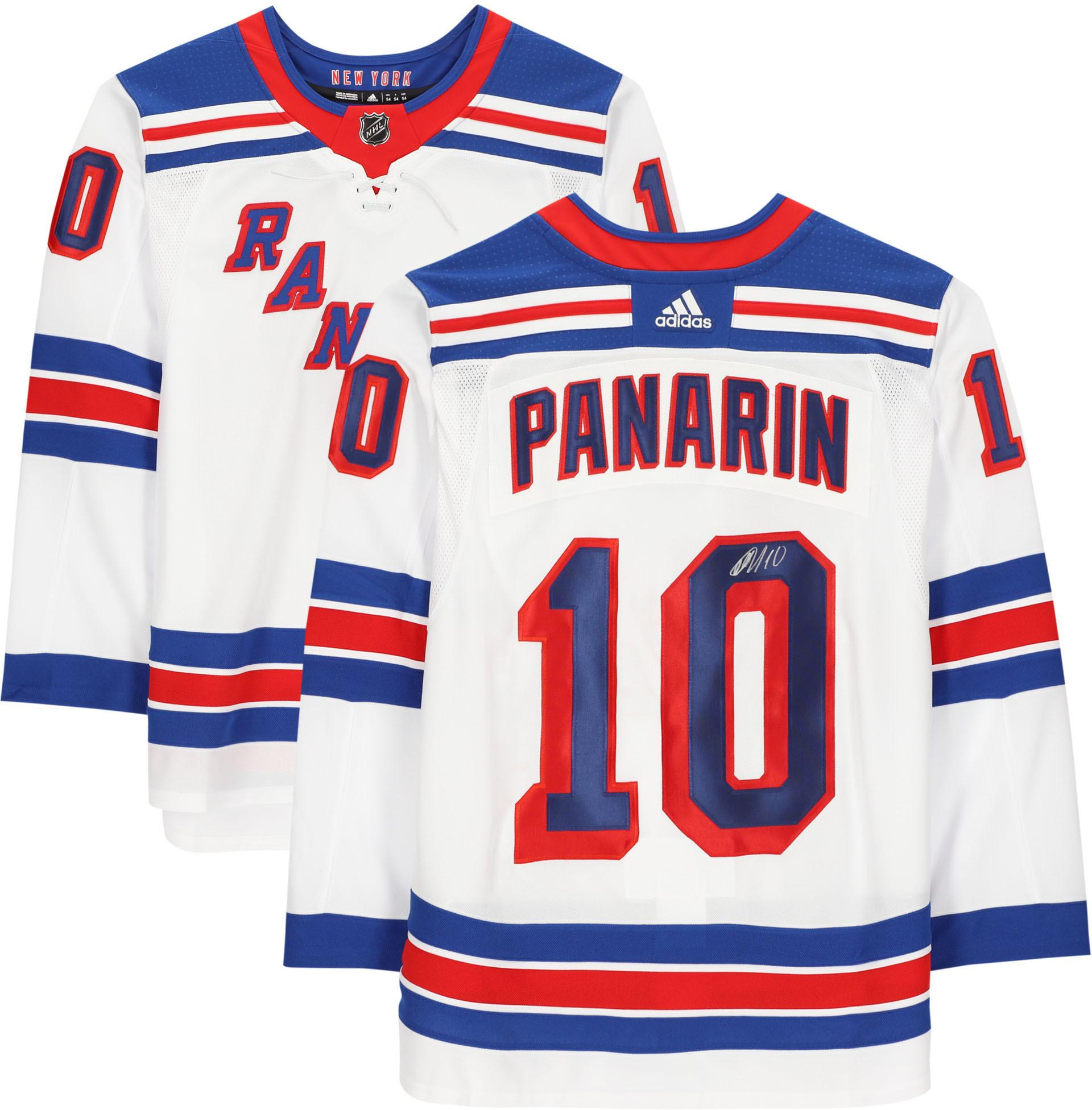 Artemi Panarin New York Rangers Autographed White Adidas Authentic Jersey - Fanatics Authentic Certified - Walmart.com