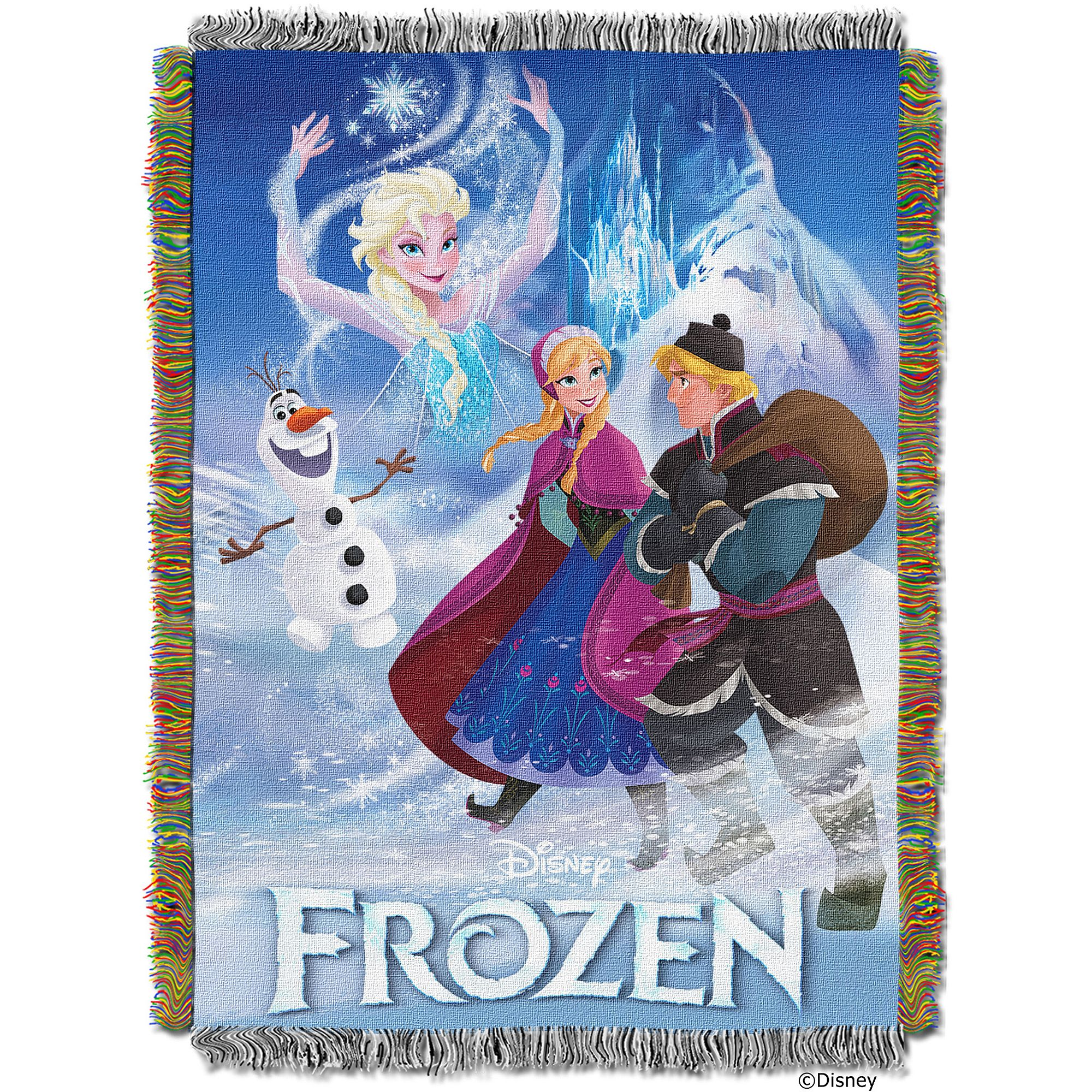 "Disney's Frozen Storybook 48"" x 60"" Tapestry Throw"