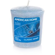 American Home by Yankee Candle Votive, Classic Denim