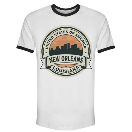 New Orleans Louisiana Usa Symbol Tee Men's -Image by Shutterstock