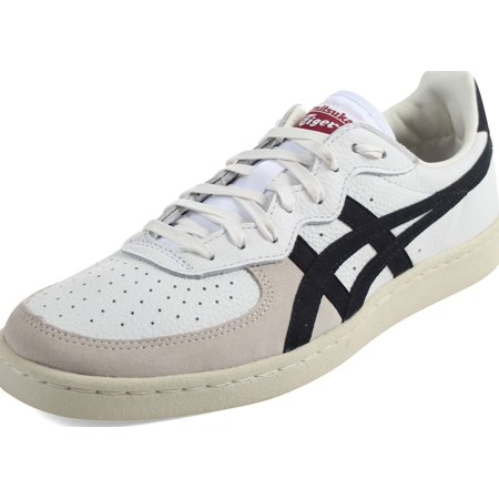 newest f2768 154ea Onitsuka Tiger D5K2Y-0190 : Unisex-Adult GSM Sneakers White/Black (6 D(M)  US Men, White/Black)