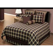 Hallmart 43593 Riley Full 4 Piece comforter set