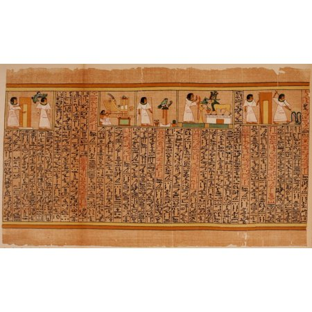 Ancient The Papyrus of Ani 1913 16 Poster - Adult Ani