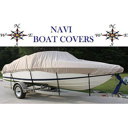Navi 23 39 24 tan marine canvas ski fishing boat cover for Walmart fishing boats
