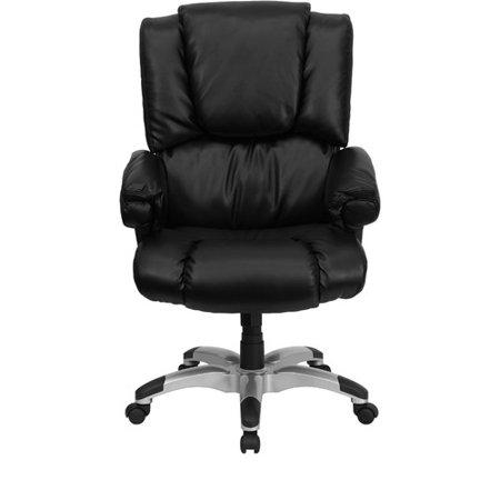 Flash Furniture Over Stuffed Leather Executive Office