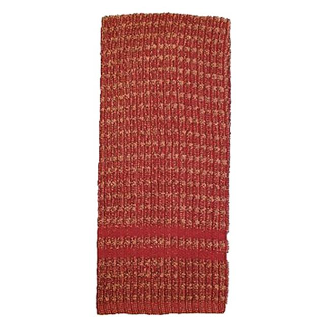 J & M Home Fashions 7423 16 x 26 inch Brick 100 Percent Cotton Kitchen Towels - 2 Pack, Pack Of 3