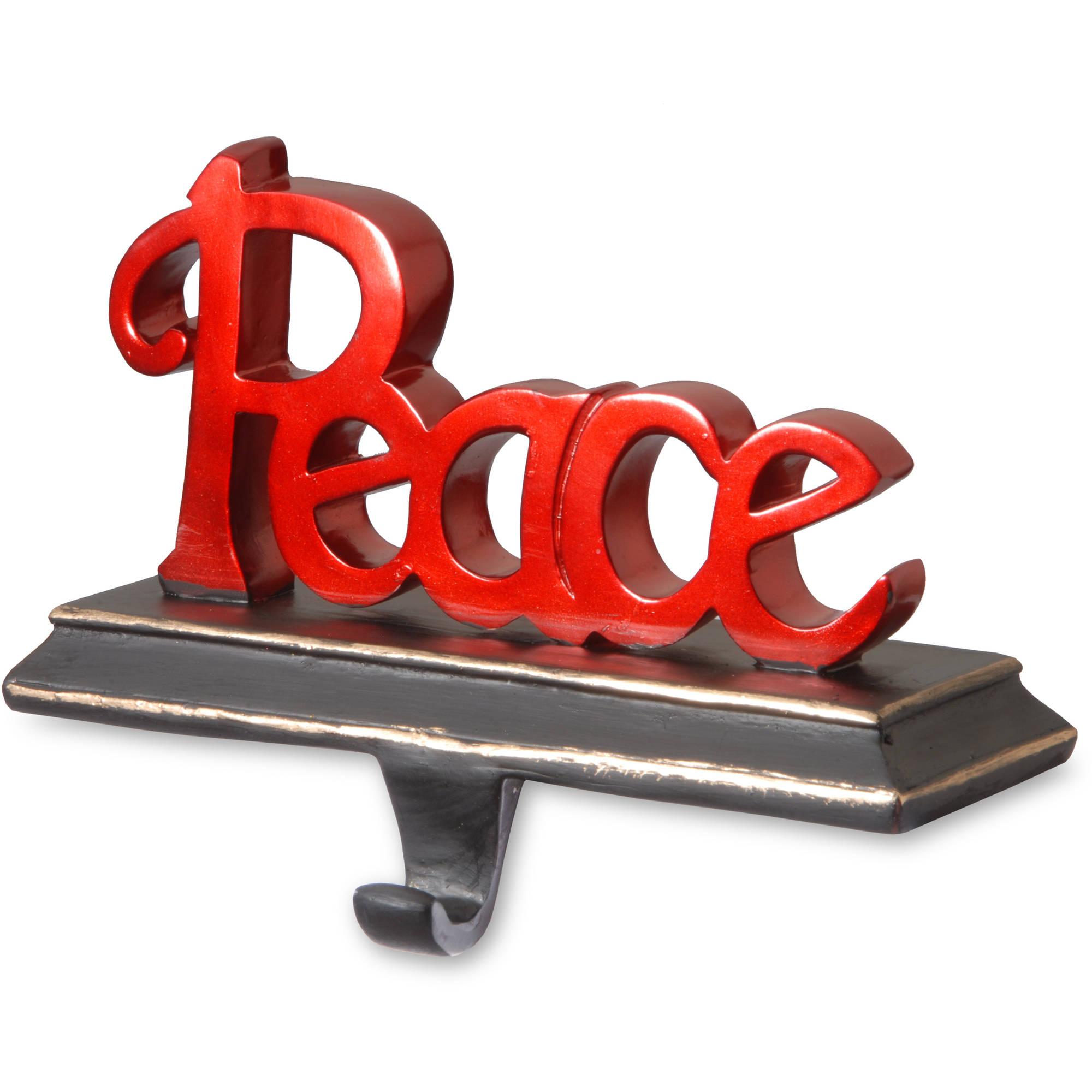 Peace Stocking Holder