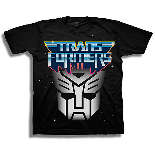 Transformers Boys' Autobot Graphic Tee