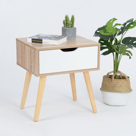 Furniture R End Table/Nightstand/Sofa Table with Storage Drawer - image 1 of 6