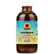 Tropic Isle Living Jamaican Black Castor Oil with Rosemary, 4 oz (Pack of 4)