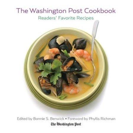 The Washington Post Cookbook  Readers Favorite Recipes