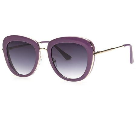 Oversized Big Vintage Square Women Giselle Retro Black Sunglasses Large (Big White Sunglasses)