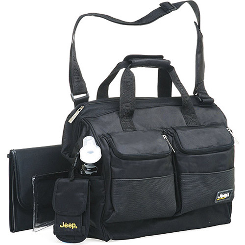 Jeep - Clamshell Diaper Bag