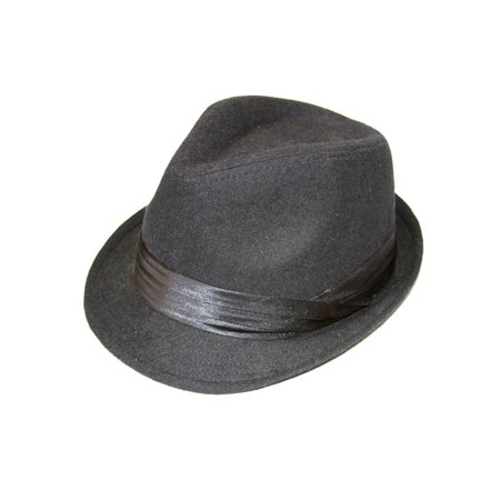 The Hatter Company Classic Black Fedora Hat - image 1 of 1