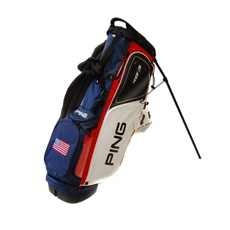 New Ping 2017 Hoofer Golf Stand Bag Red White Navy W