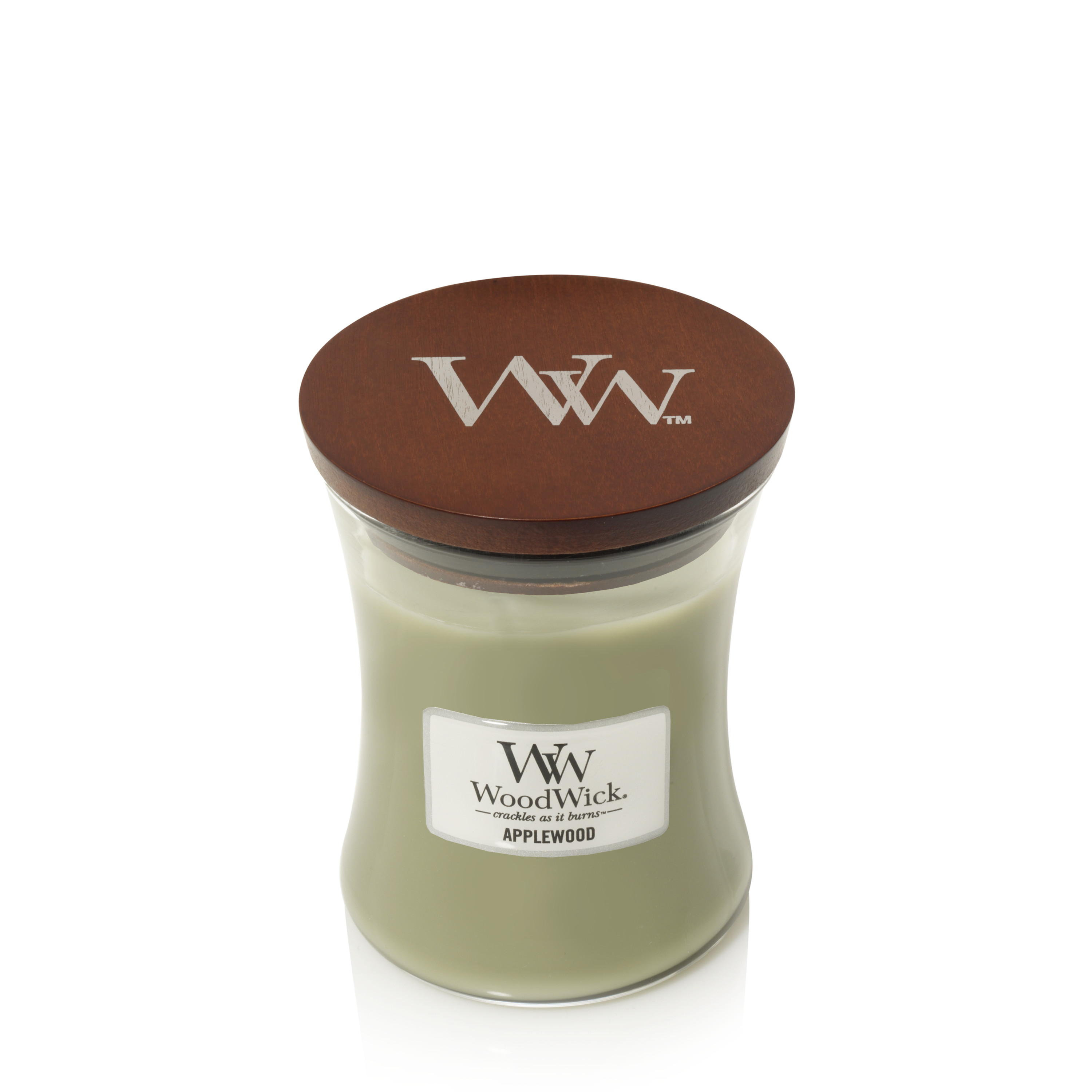 WoodWick Medium Hourglass Candle, Applewood