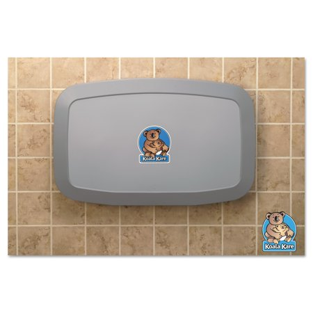 - Koala Kare Horizontal Baby Changing Station, Gray