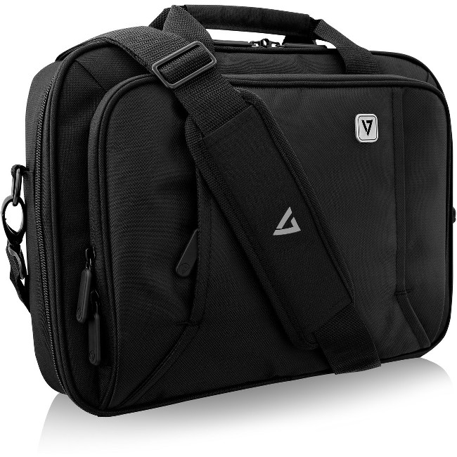 "V7 Professional CCP13-BLK-9N Carrying Case (Briefcase) for 13.3"" Laptop - Black"