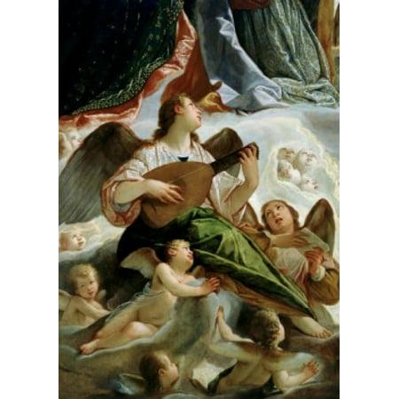 Trinity with Saints Ursula and Margaret (Detail) 1619 Vianino (Antonio Maria Viani) 15551560-1629 Italian Palazzo Ducale Mantua Canvas Art - Antonio Maria Viani (18 x 24)