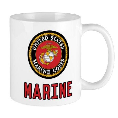 CafePress - Marine Emblem - Unique Coffee Mug, Coffee Cup CafePress