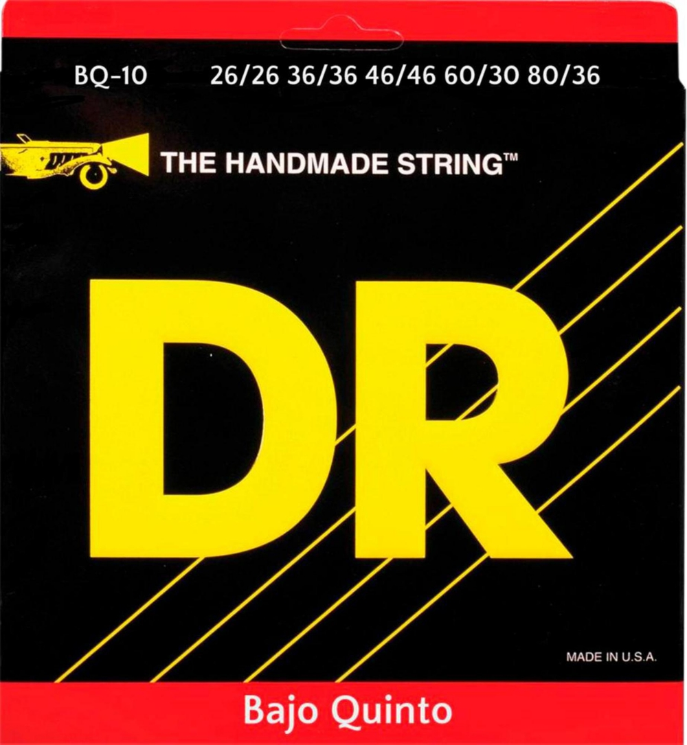 DR Strings Bajo Quinto Bass Strings 10 String by DR Strings