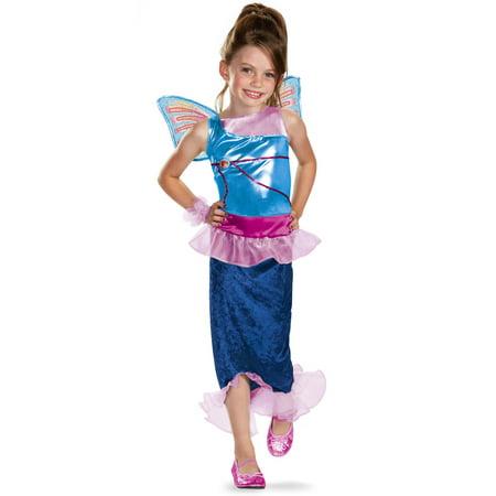 Winx Club Bloom Mermaid Classic Costume - Winx Club Halloween Costumes