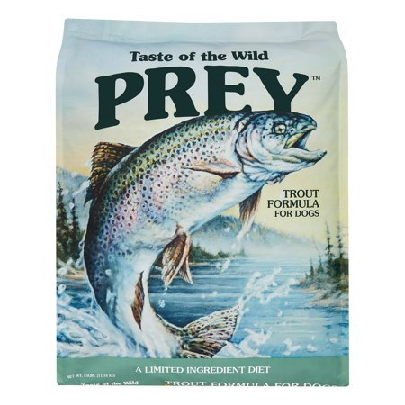 Taste of the Wild Prey Limited Ingredient Trout Formula Dry Dog Food, 25 (Standard Measuring Cup Taste Of The Wild)