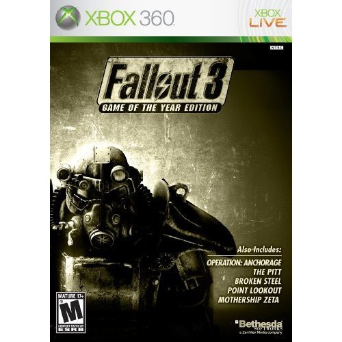 Fallout 3: Game of the Year Edition (Xbox 360)