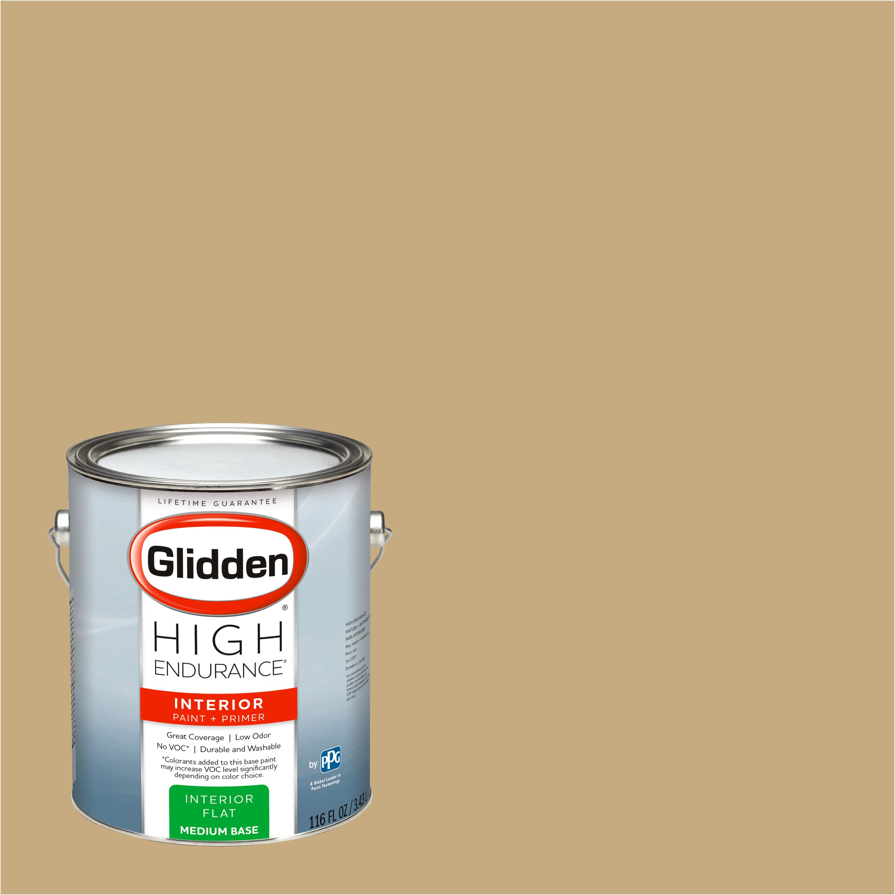 Glidden High Endurance, Interior Paint and Primer, Golden Needles, # 20YY 41/264