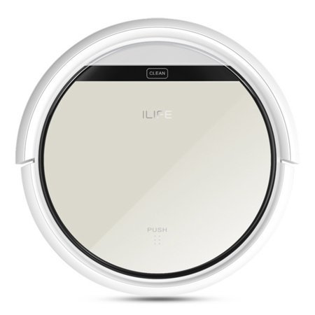 Ilife V5 Robotic Vacuum Cleaner Home Pure Floor Irobot Vacuum Automatic Cleaner  Champagne Golden