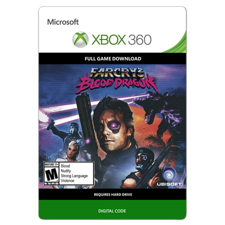 Xbox 360 Far Cry 3: Blood Dragon (Email Delivery)