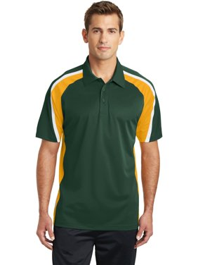 dafcde7be Product Image Sport-Tek Tricolor Micropique Sport-Wick Polo
