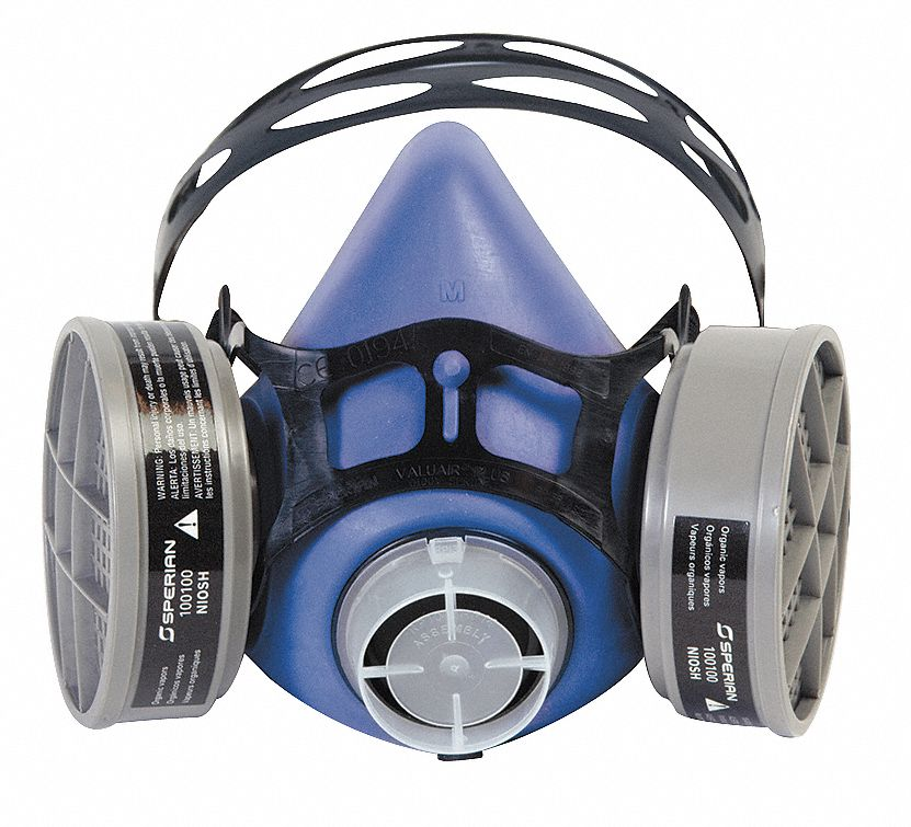 Honeywell Half Mask Respirator Blue  303500