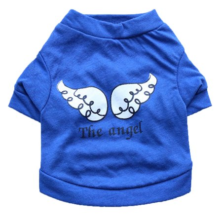 Dog Pet Spring Summer The Angel Vest Sleeveless T-Shirts Clothes  ](Angel Dog)